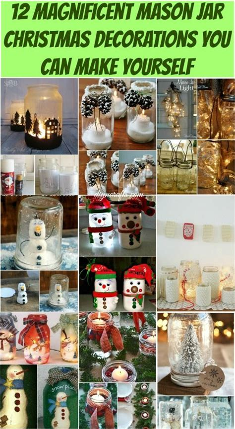 12 magnificent mason jar christmas decorations you can