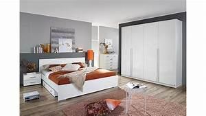 Schlafzimmer Hochglanz Weiß : schlafzimmerset lorca schlafzimmer in wei hochglanz dekor ~ Frokenaadalensverden.com Haus und Dekorationen