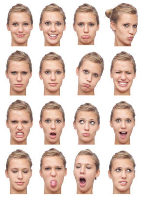 Mirroring Psychology Definition by Expressions In Photo Shoot