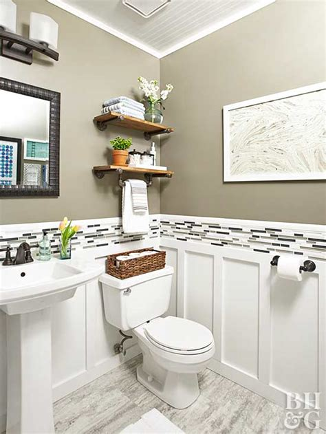 Ideas For Small Bathrooms by Renovation Rescue Small Bathroom On A Budget