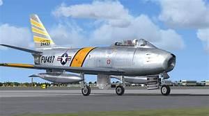 Un North American F-86F Sabre USAF pour FSX - Flight ...