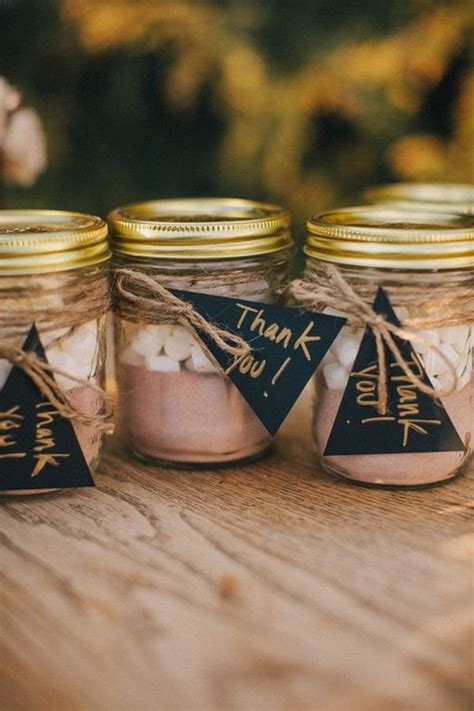 10 Wonderful Winter Wedding Favour And T Ideas
