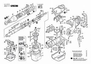 Bosch 11240 Parts List