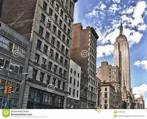 Street View Of The Empire State Building Stock Photography ...
