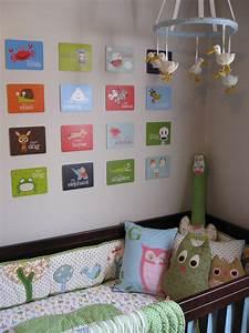 Nursery wall ideas for above the crib