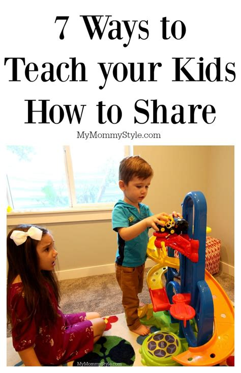 7 Ways To Teach Your Kids How To Share & Giveaway! My