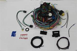 21 Circuit Wiring Harness Chevy Mopar Ford Hot Rods