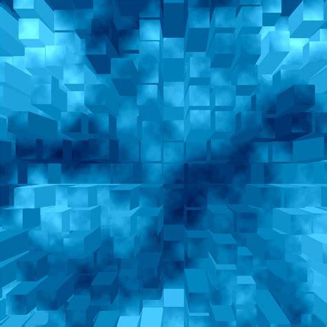 blue  geometric background illustration