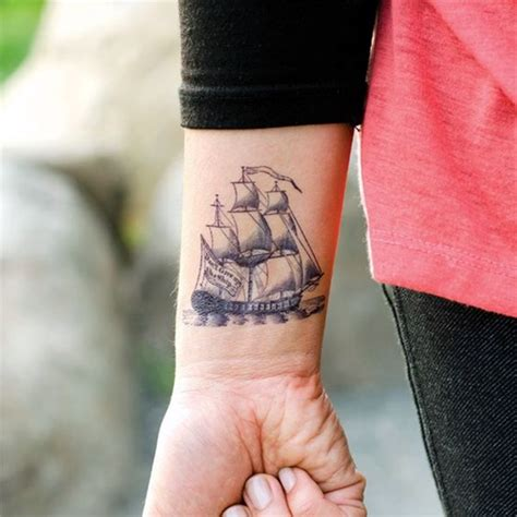 Boat Tattoo by 40 Cute And Meaningful Boat Tattoo Designs Bored Art