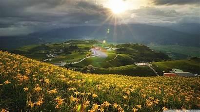 Mountain Landscape Wallpapers Landscapes Mountains Nature Sunset