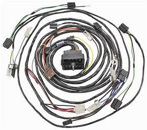 Wiring Harness  Forward Lamp  1963 Cadillac  W  Ac  Exc