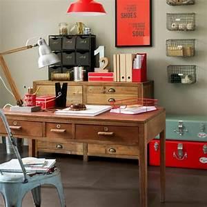 Work In Coziness: 20 Farmhouse Home Office Décor Ideas ...