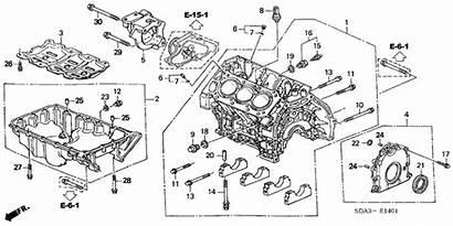 Honda Acura Cylinder Oil Block Pan Engine