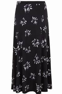 Cession De Parts De Sci A Titre Gratuit : jupe longue noire fleurs avec poches taille 44 64 ~ Dallasstarsshop.com Idées de Décoration