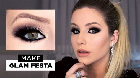 Make Glam Festa  Tetê Clementino YouTube