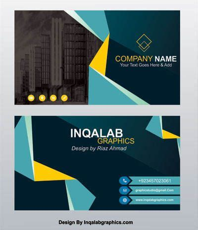 business card templates  vector art images