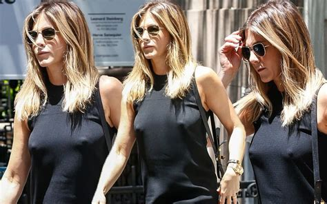 Baring It All Jennifer Aniston Busts Out Her Nipples In