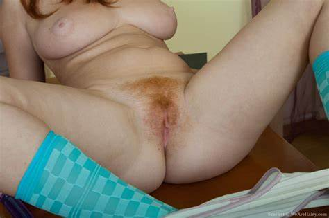 Red Haired Student With Enjoying Her Vibrator