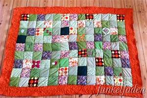 Nähen Mit Stoffresten Anleitungen : einfache patchworkdecke n hen handmade kultur ~ Lizthompson.info Haus und Dekorationen