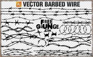 Vector Barbed Wire Vector