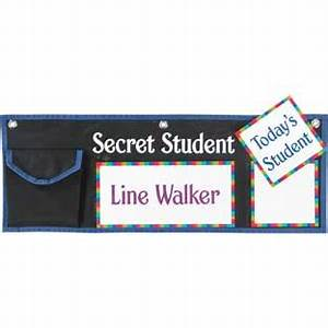 Student Park And Store Pocket Chart