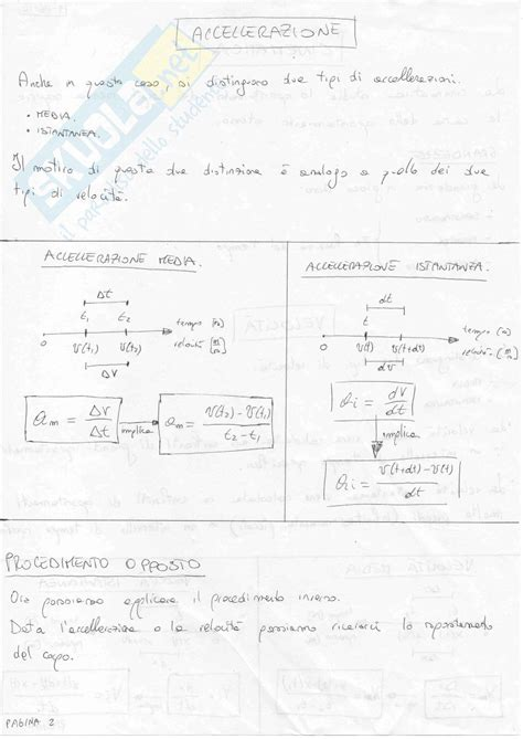 Dispense Fisica 1 by Fisica Generale 1