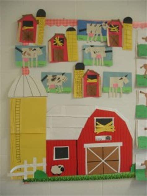 farm bulletin board crafts  worksheets  preschool