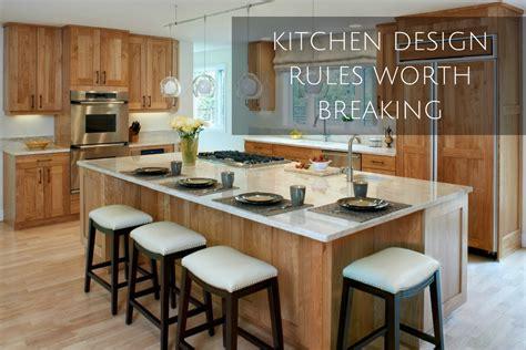 7 Kitchen Design Rules Worth Breaking