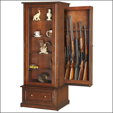 hidden gun cabinet furniture plans cabinet home