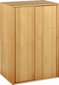 Schrank 120 X 60 : biokinder schrankelement schrank schiebet ren 120x80x55 erle massivholz neu ebay ~ Bigdaddyawards.com Haus und Dekorationen
