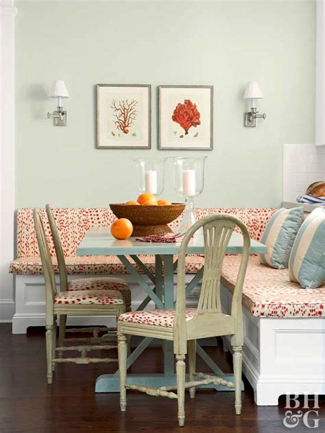 L Shaped Banquette - built in banquette ideas better homes gardens