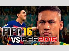 FIFA 16 vs PES 2016 Gameplay Trailer Gamescom YouTube