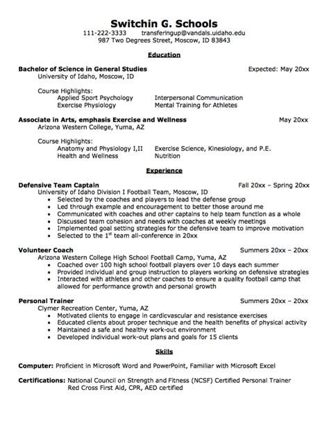 College Transfer Application Resume by Transfer Student Resume Sle Http Exleresumecv Org Transfer Student Resume Sle