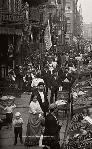 Gilded Age Immigration Vintage Edwardian Markets In The 1900s Monovisions