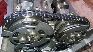 Range Rover 2016 Six Cylinder Timing Setting Mark