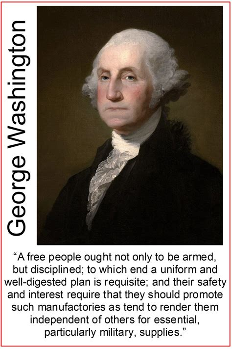 One of the safest places to be in the world is the stage. George Washington Quote - National Compass