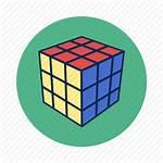 Icon Rubik Cube Icons Rubiks Toy Play