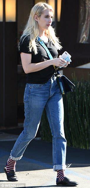Emma Roberts flaunts figure in retro swimwear for Shape ...
