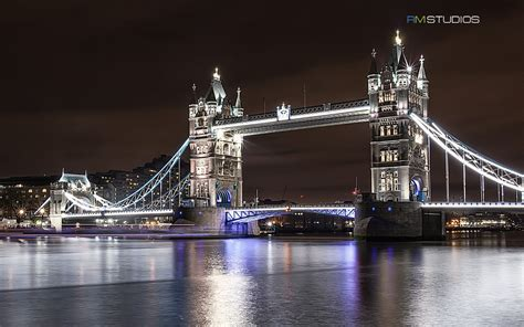 tower bridge  night wallpapers hd wallpapers id