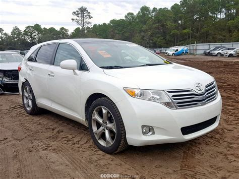 2009 Toyota Venza For Sale by 2009 Toyota Venza Awd V6 Salvage Damaged Cars For Sale