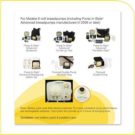 Amazoncom Medela Battery Pack For 9 Volt Pump In Style
