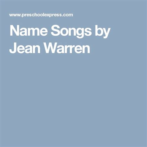 best 25 name songs ideas on circle time songs 527 | f145b53335ec28838e147d9187f6b7eb