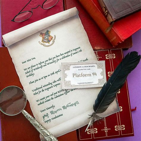 harry potter party invitation template hogwarts
