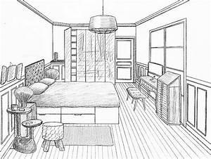 chambre inspirational comment dessiner sa chambre high With comment dessiner une chambre