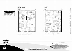 finest beautiful plan maison tage chambres with plan With beautiful plan de maison de 100m2 2 plan maison en t plain pied madame ki