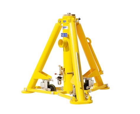50 Ton Fixed Height Tripod Jack