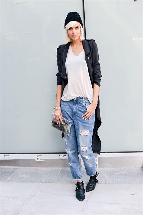 Chic Street Style Boyfriend Jeans Fashiongum
