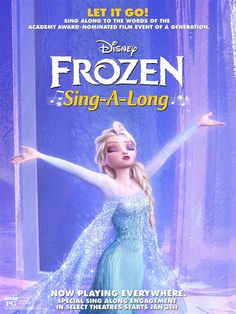 disney frozen sing  version hitting theaters