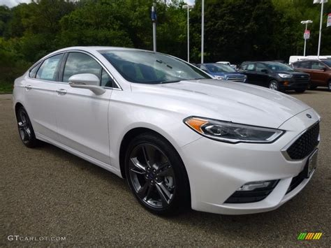 2017 Ford Fusion Sport Mpg by 2017 White Platinum Ford Fusion Sport Awd 115302631 Photo