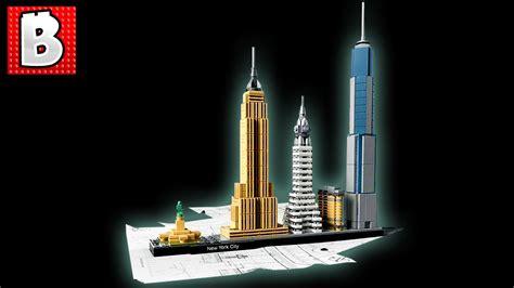 Badmöbel Set New York by Lego Architecture New York City Set 21028 Unbox Build